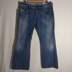Diesel ZAF Jeans size 36W 32L Made in Italy